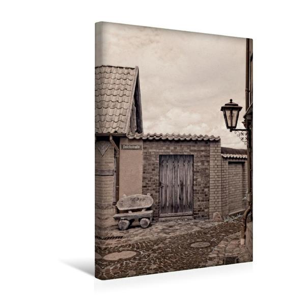 Premium Textil-Leinwand 30 cm x 45 cm hoch, Ein Motiv aus dem Kalender Zauberhafte Infrarot-Fotografie   Wandbild, Bild auf Keilrahmen, Fertigbild auf echter Leinwand, Leinwanddruck - Coverbild