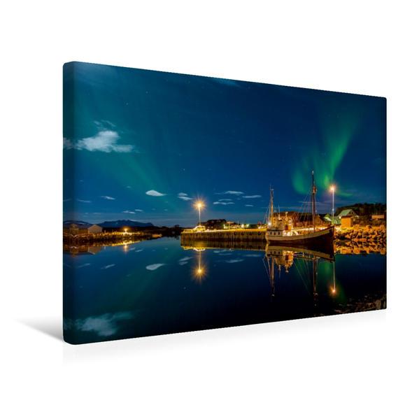 Premium Textil-Leinwand 45 cm x 30 cm quer, Laukvik | Wandbild, Bild auf Keilrahmen, Fertigbild auf echter Leinwand, Leinwanddruck - Coverbild