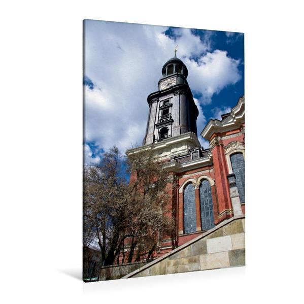 Premium Textil-Leinwand 80 cm x 120 cm  hoch, Michel im Frühling | Wandbild, Bild auf Keilrahmen, Fertigbild auf echter Leinwand, Leinwanddruck - Coverbild