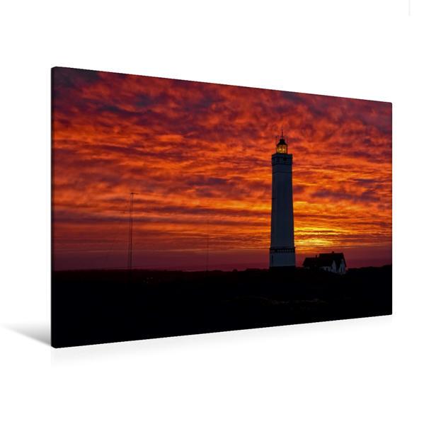 Premium Textil-Leinwand 120 cm x 80 cm quer, Ein Motiv aus dem Kalender Dänemarks Westküste   Wandbild, Bild auf Keilrahmen, Fertigbild auf echter Leinwand, Leinwanddruck - Coverbild