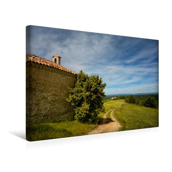 Premium Textil-Leinwand 45 cm x 30 cm quer, Der Weg | Wandbild, Bild auf Keilrahmen, Fertigbild auf echter Leinwand, Leinwanddruck - Coverbild
