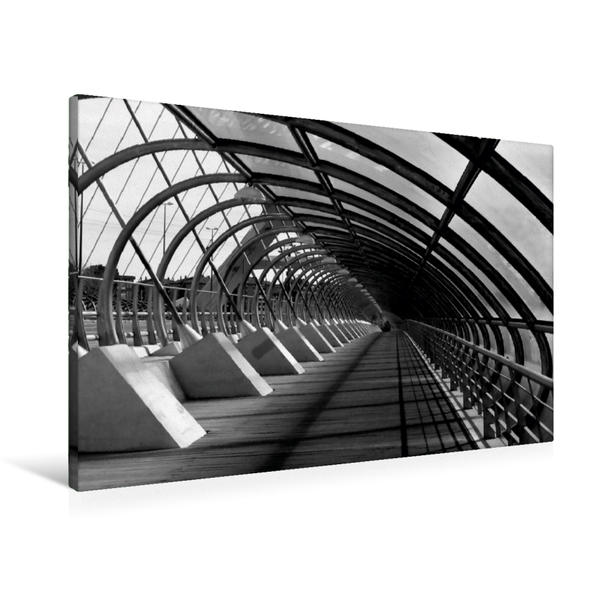 Premium Textil-Leinwand 90 cm x 60 cm quer, Wirbel | Wandbild, Bild auf Keilrahmen, Fertigbild auf echter Leinwand, Leinwanddruck - Coverbild