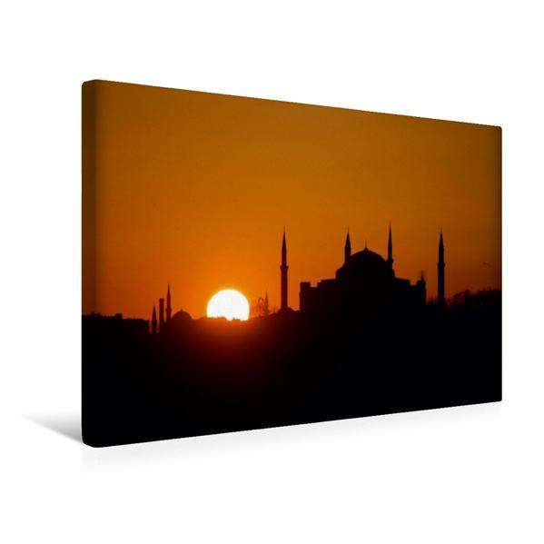 Premium Textil-Leinwand 45 cm x 30 cm quer, ISTANBUL | Wandbild, Bild auf Keilrahmen, Fertigbild auf echter Leinwand, Leinwanddruck - Coverbild