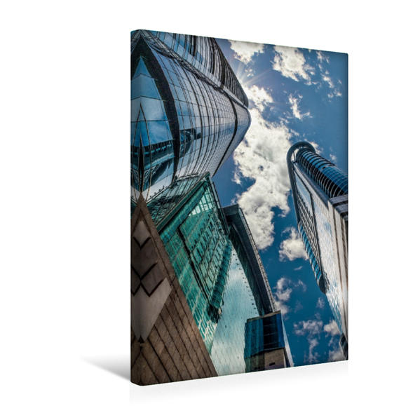 Premium Textil-Leinwand 30 cm x 45 cm hoch, Metropole Hongkong, Harbour City in Kowloon | Wandbild, Bild auf Keilrahmen, Fertigbild auf echter Leinwand, Leinwanddruck - Coverbild