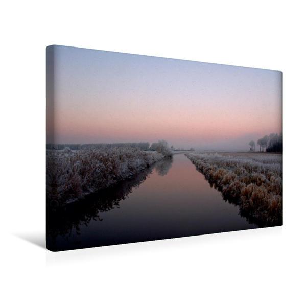 Premium Textil-Leinwand 45 cm x 30 cm quer, PINK   Wandbild, Bild auf Keilrahmen, Fertigbild auf echter Leinwand, Leinwanddruck - Coverbild