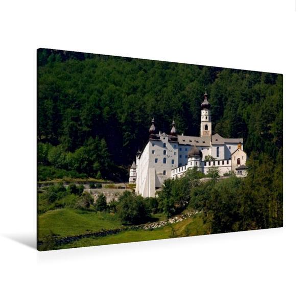 Premium Textil-Leinwand 120 cm x 80 cm quer, Kloster Marienberg   Wandbild, Bild auf Keilrahmen, Fertigbild auf echter Leinwand, Leinwanddruck - Coverbild