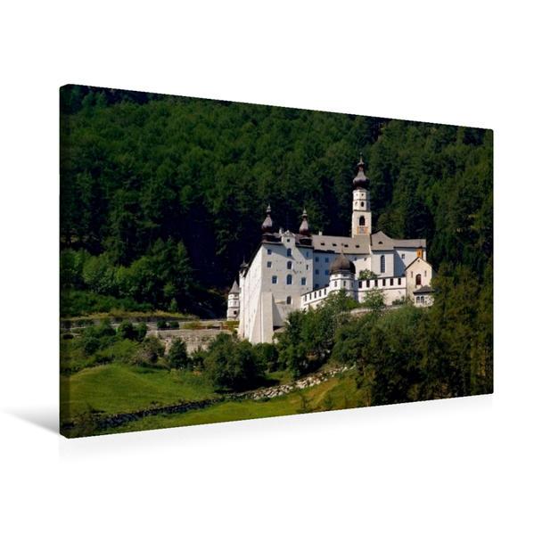 Premium Textil-Leinwand 75 cm x 50 cm quer, Kloster Marienberg | Wandbild, Bild auf Keilrahmen, Fertigbild auf echter Leinwand, Leinwanddruck - Coverbild