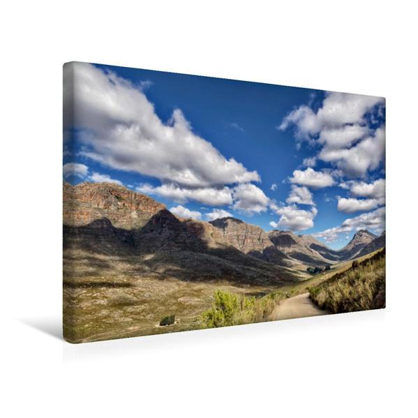 Premium Textil-Leinwand 45 cm x 30 cm quer, Niewoudtpass in den Cederbergen   Wandbild, Bild auf Keilrahmen, Fertigbild auf echter Leinwand, Leinwanddruck - Coverbild