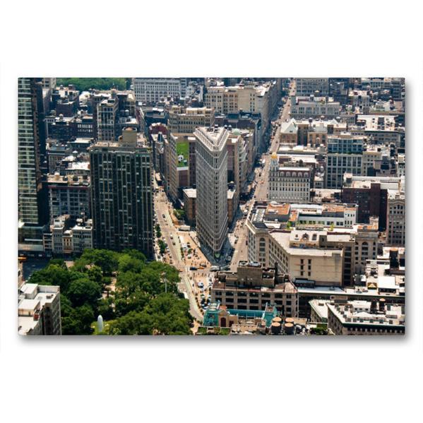 Premium Textil-Leinwand 90 cm x 60 cm quer, Ein Motiv aus dem Kalender Ansichten einer Stadt: New York | Wandbild, Bild auf Keilrahmen, Fertigbild auf echter Leinwand, Leinwanddruck - Coverbild