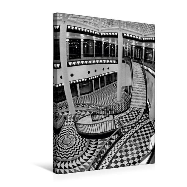 Premium Textil-Leinwand 50 cm x 75 cm hoch, Quartier 206 - Friedrichstadt-Passagen in Berlin-Mitte | Wandbild, Bild auf Keilrahmen, Fertigbild auf echter Leinwand, Leinwanddruck - Coverbild