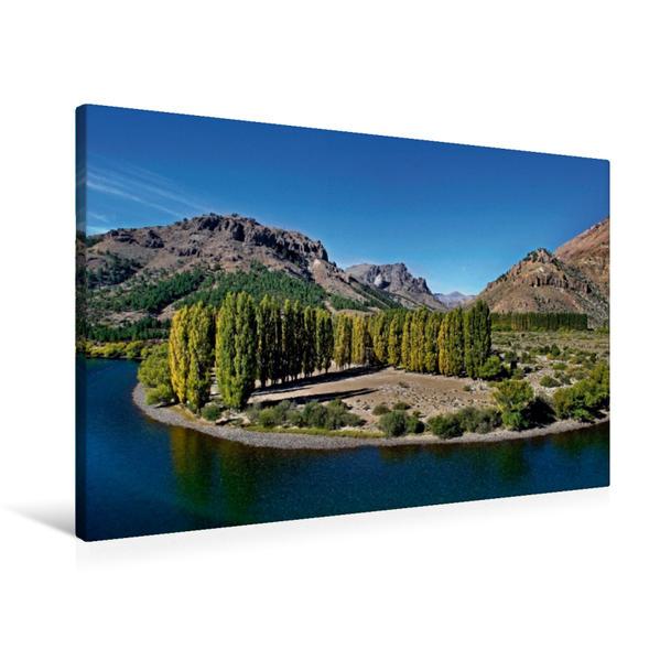 Premium Textil-Leinwand 90 cm x 60 cm quer, Ein Motiv aus dem Kalender Faszinierendes Patagonien | Wandbild, Bild auf Keilrahmen, Fertigbild auf echter Leinwand, Leinwanddruck - Coverbild