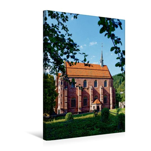 Premium Textil-Leinwand 50 cm x 75 cm hoch, Marienkapelle im Kloster Hirsau | Wandbild, Bild auf Keilrahmen, Fertigbild auf echter Leinwand, Leinwanddruck - Coverbild
