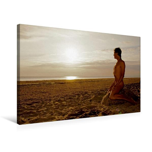 Premium Textil-Leinwand 75 cm x 50 cm quer, Relax | Wandbild, Bild auf Keilrahmen, Fertigbild auf echter Leinwand, Leinwanddruck - Coverbild