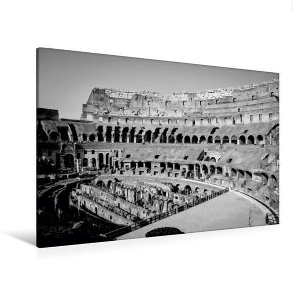 Premium Textil-Leinwand 120 cm x 80 cm quer, Ein Motiv aus dem Kalender Rom - der Nabel der Welt | Wandbild, Bild auf Keilrahmen, Fertigbild auf echter Leinwand, Leinwanddruck - Coverbild