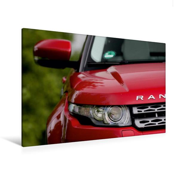 Premium Textil-Leinwand 120 cm x 80 cm quer, Range Rover Evoque   Wandbild, Bild auf Keilrahmen, Fertigbild auf echter Leinwand, Leinwanddruck - Coverbild