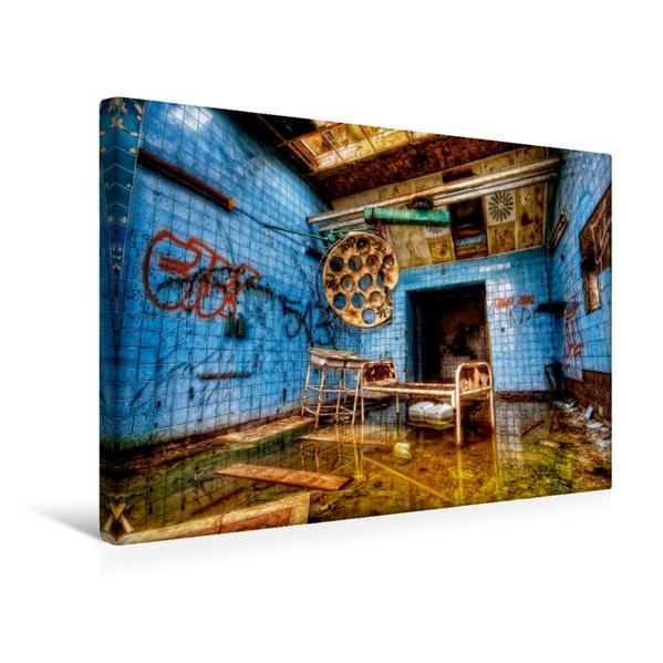 Premium Textil-Leinwand 45 cm x 30 cm quer, Ein Motiv aus dem Kalender Der Zahn der Zeit | Wandbild, Bild auf Keilrahmen, Fertigbild auf echter Leinwand, Leinwanddruck - Coverbild