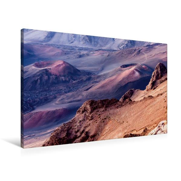 Premium Textil-Leinwand 90 cm x 60 cm quer, Haleakala - Maui | Wandbild, Bild auf Keilrahmen, Fertigbild auf echter Leinwand, Leinwanddruck - Coverbild