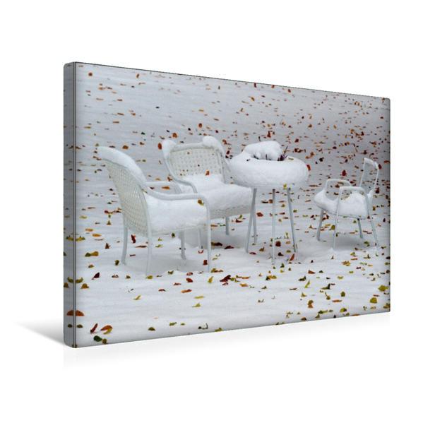 Premium Textil-Leinwand 45 cm x 30 cm quer, Ein Motiv aus dem Kalender Gedanken zur Langsamkeit | Wandbild, Bild auf Keilrahmen, Fertigbild auf echter Leinwand, Leinwanddruck - Coverbild