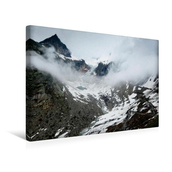 Premium Textil-Leinwand 45 cm x 30 cm quer, Grand Col Ferret | Wandbild, Bild auf Keilrahmen, Fertigbild auf echter Leinwand, Leinwanddruck - Coverbild