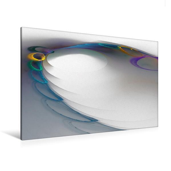 Premium Textil-Leinwand 120 cm x 80 cm quer, Ein Motiv aus dem Kalender Abstrakte Variationen | Wandbild, Bild auf Keilrahmen, Fertigbild auf echter Leinwand, Leinwanddruck - Coverbild