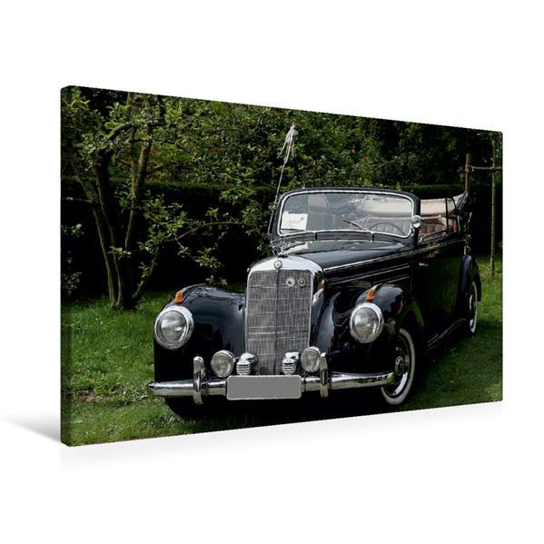 Premium Textil-Leinwand 75 cm x 50 cm quer, Mercedes Benz Edle Schätzchen | Wandbild, Bild auf Keilrahmen, Fertigbild auf echter Leinwand, Leinwanddruck - Coverbild