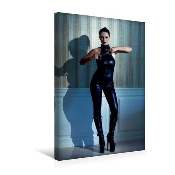 Premium Textil-Leinwand 30 cm x 45 cm hoch, Ein Motiv aus dem Kalender Fetisch. SM-Fantasien | Wandbild, Bild auf Keilrahmen, Fertigbild auf echter Leinwand, Leinwanddruck - Coverbild