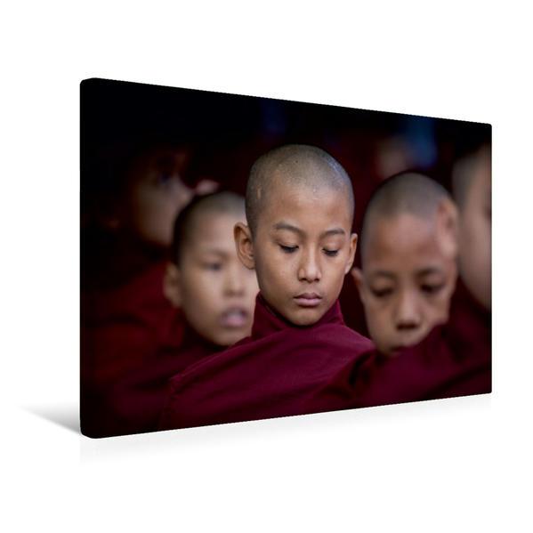 Premium Textil-Leinwand 45 cm x 30 cm quer, Ein Motiv aus dem Kalender Myanmar 2017   Wandbild, Bild auf Keilrahmen, Fertigbild auf echter Leinwand, Leinwanddruck - Coverbild