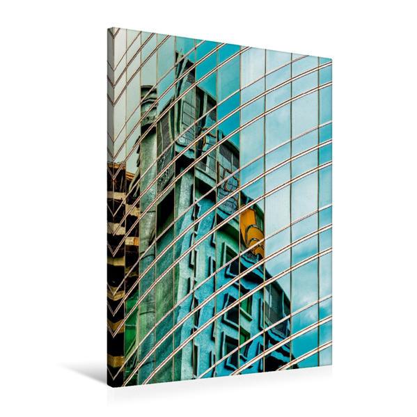 Premium Textil-Leinwand 60 cm x 90 cm hoch, Kuala Lumpur | Wandbild, Bild auf Keilrahmen, Fertigbild auf echter Leinwand, Leinwanddruck - Coverbild