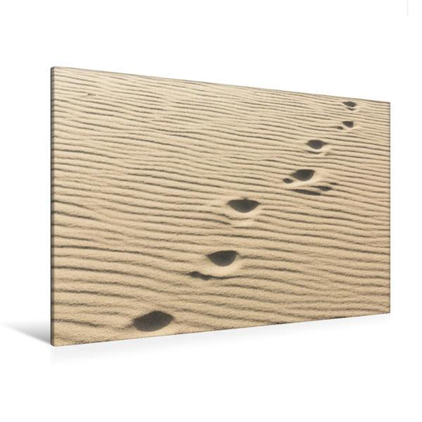 Premium Textil-Leinwand 120 cm x 80 cm quer, Ein Motiv aus dem Kalender Sylt - Magische Momente | Wandbild, Bild auf Keilrahmen, Fertigbild auf echter Leinwand, Leinwanddruck - Coverbild