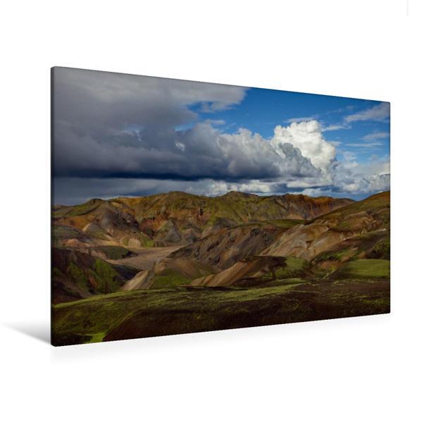 Premium Textil-Leinwand 120 cm x 80 cm quer, MAGIC MOUNTAINS II   Wandbild, Bild auf Keilrahmen, Fertigbild auf echter Leinwand, Leinwanddruck - Coverbild