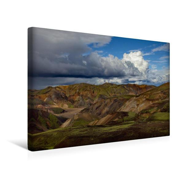Premium Textil-Leinwand 45 cm x 30 cm quer, MAGIC MOUNTAINS II | Wandbild, Bild auf Keilrahmen, Fertigbild auf echter Leinwand, Leinwanddruck - Coverbild