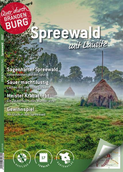 Ferienzeitung Spreewald mit Lausitz - Coverbild