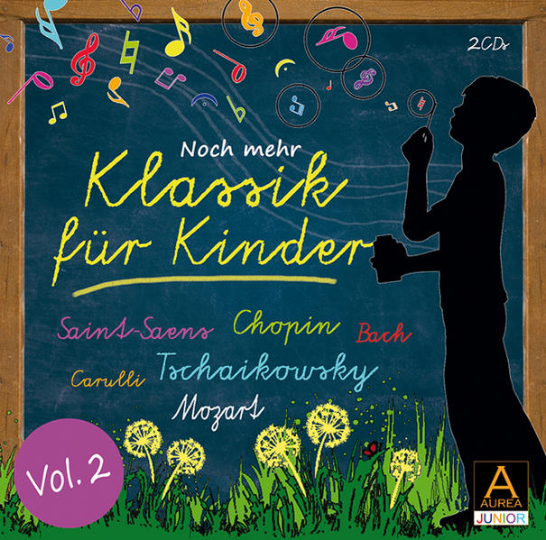 Klassik für Kinder Vol. 2 - Coverbild