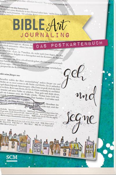 Bible Art Journaling - Das Postkartenbuch - Coverbild