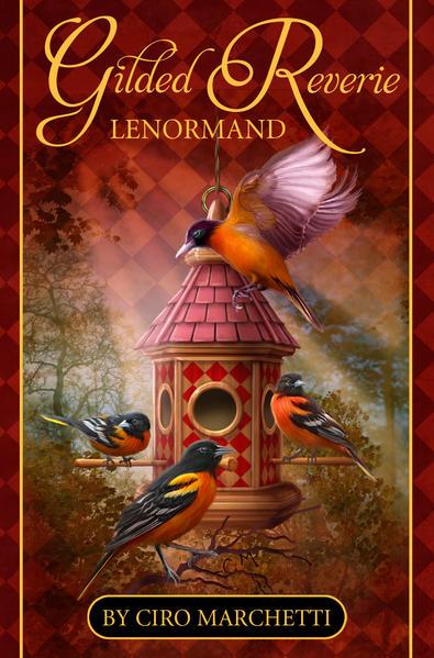 Gilded Reverie Lenormand - Coverbild