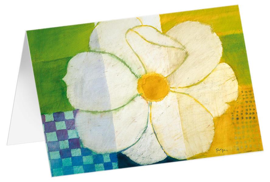 Blüte auf den Feldern - Kunst-Faltkarten ohne Text (5 Stück) - Coverbild