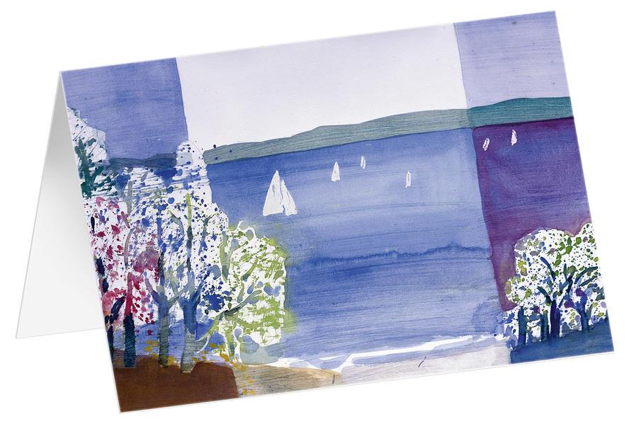 Frühlingsstimmung - Kunst-Faltkarten ohne Text (5 Stück) - Coverbild