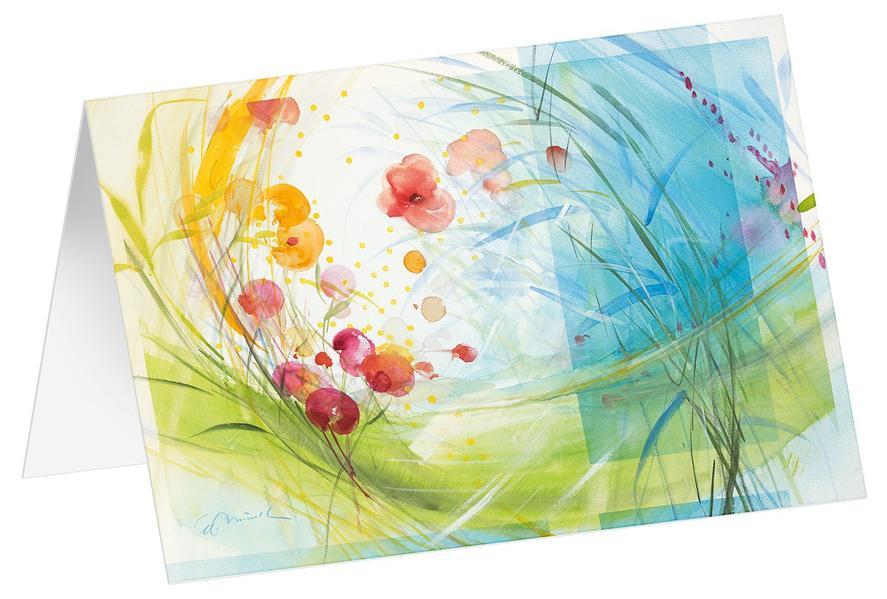 Morgenerwachen - Kunst-Faltkarten ohne Text (5 Stück) * - Coverbild