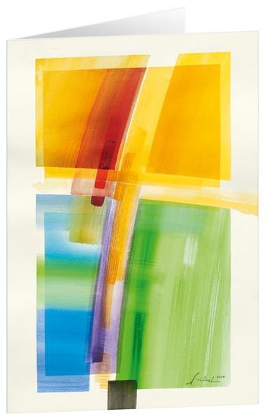 Zeichen der Hoffnung - Kunst-Faltkarten ohne Text (5 Stück) - Coverbild