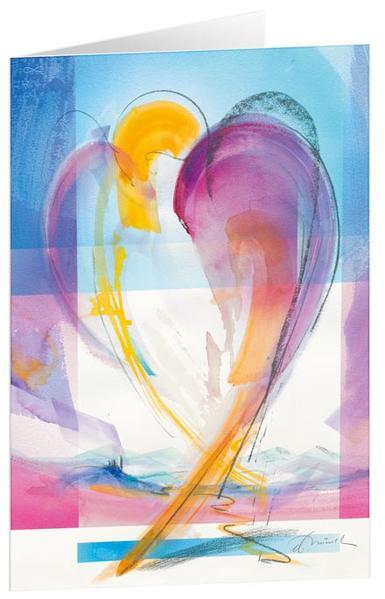 Unerwartet - Kunst-Faltkarten ohne Text (5 Stück) - Coverbild
