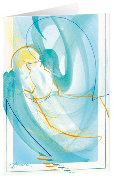Ein Engel für dich - Kunst-Faltkarten ohne Text (5 Stück) * - Coverbild