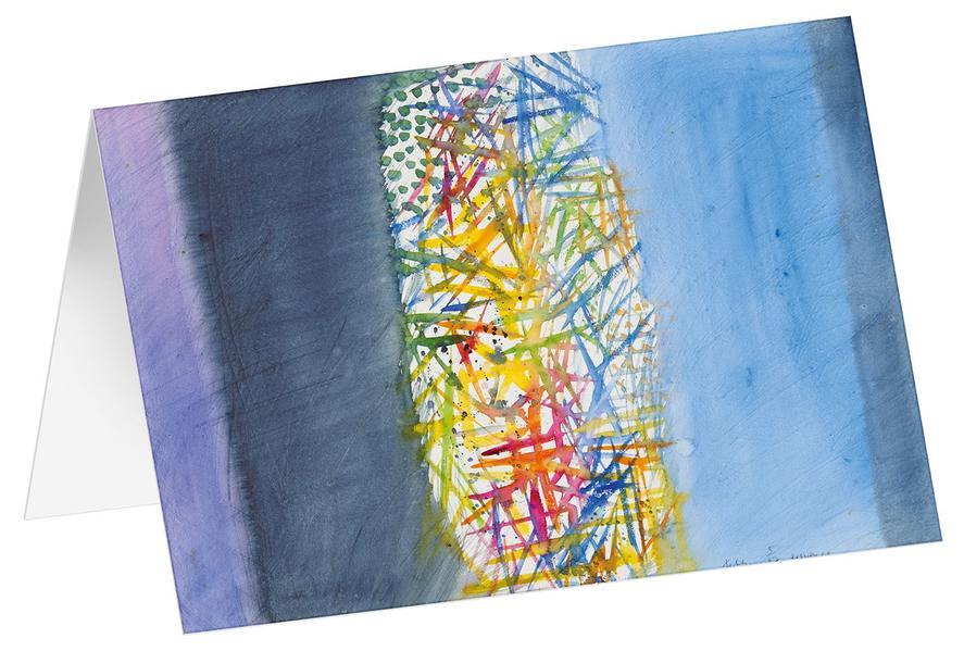 Provence 6 - Kunst-Faltkarten ohne Text (5 Stück) - Coverbild