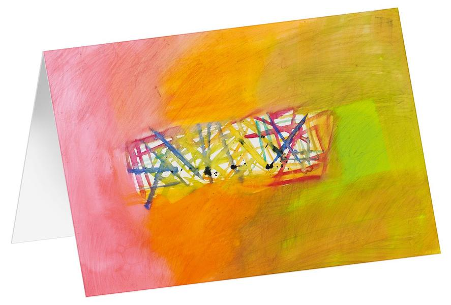Provence 8 - Kunst-Faltkarten ohne Text (5 Stück) - Coverbild