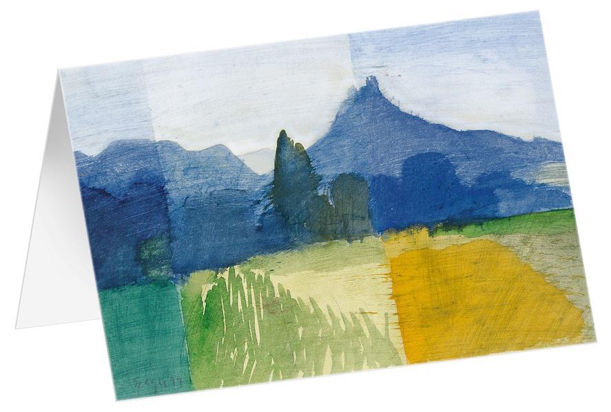 Hohenzollern - Kunst-Faltkarten ohne Text (5 Stück) - Coverbild