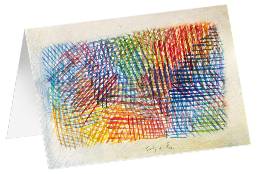 Variation - Kunst-Faltkarten ohne Text (5 Stück) - Coverbild
