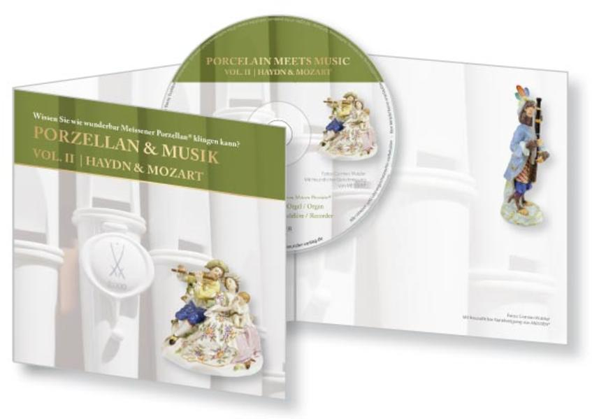 CD-Card Porzellan & Musik | Porcelain meets music  Vol. II | Haydn & Mozart - Coverbild