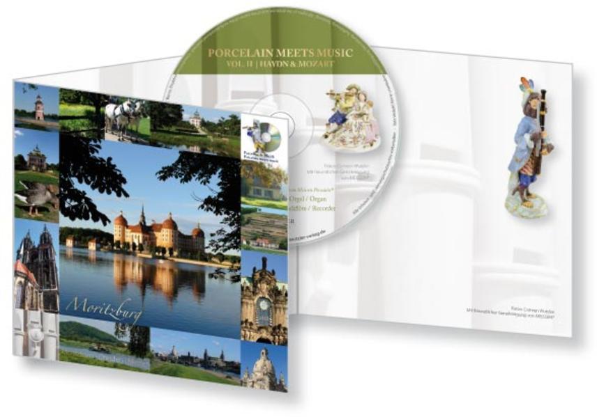 CD-Card Porzellan & Musik | Porcelain meets music  Vol. II | Haydn & Mozart - Moritzburg - Coverbild