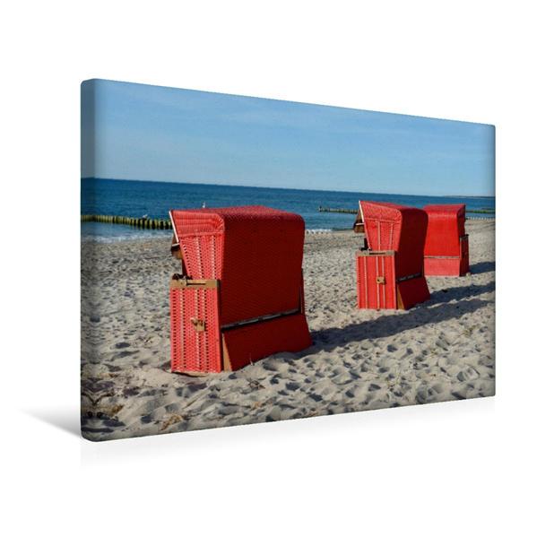 Premium Textil-Leinwand 45 cm x 30 cm quer, Ein Motiv aus dem Kalender An der Ostsee   Wandbild, Bild auf Keilrahmen, Fertigbild auf echter Leinwand, Leinwanddruck - Coverbild