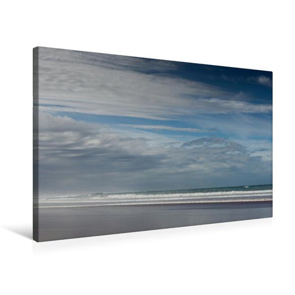 Premium Textil-Leinwand 75 cm x 50 cm quer, Ein Motiv aus dem Kalender Emotionale Momente: Meeresrauschen | Wandbild, Bild auf Keilrahmen, Fertigbild auf echter Leinwand, Leinwanddruck - Coverbild