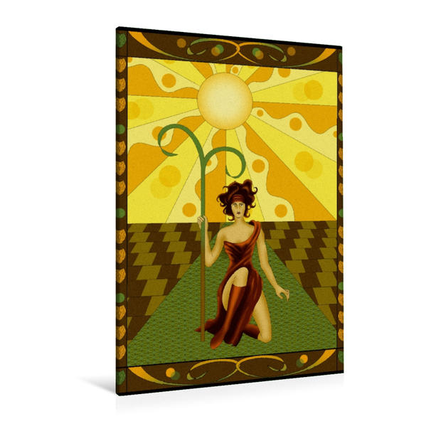 Premium Textil-Leinwand 80 cm x 120 cm  hoch, Die Natur | Wandbild, Bild auf Keilrahmen, Fertigbild auf echter Leinwand, Leinwanddruck - Coverbild